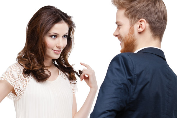 signs of attraction from a woman